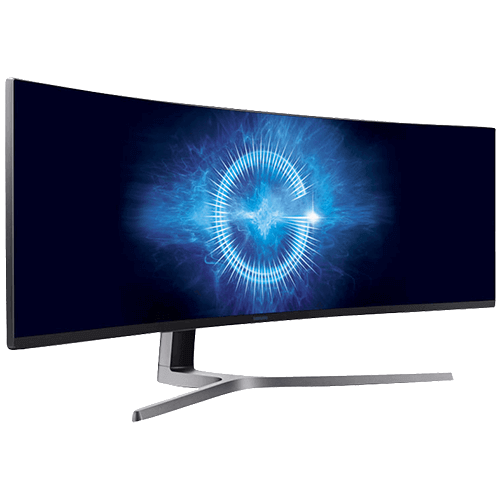 samsung 49 zoll curved gaming monitor sparstrom. Black Bedroom Furniture Sets. Home Design Ideas